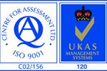 CfA UKAS ISO 9001 Logosmall