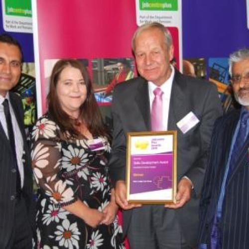 North West Skills Development Award 2010